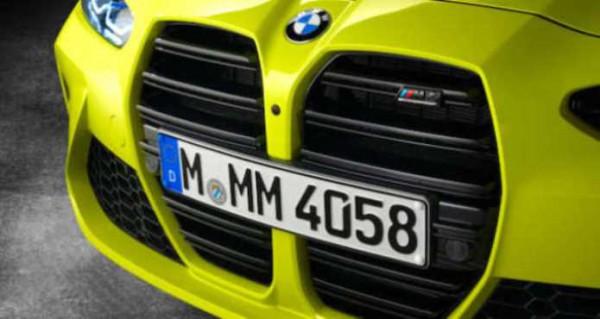 BMW, ноздри