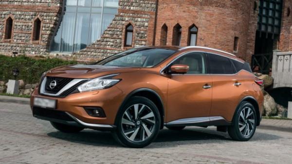 Nissan Murano, кроссовер