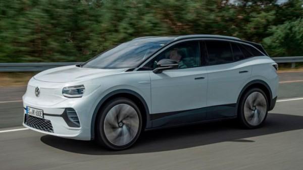 Volkswagen ID.4, электрический кросс, концепт