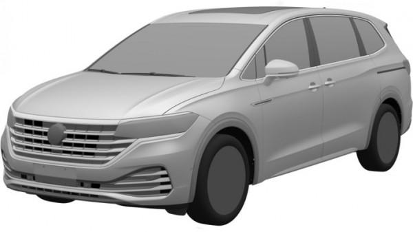 Volkswagen Viloran, семиместный минивэн