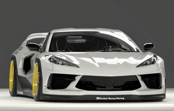 Chevrolet Corvette, широкий обвес, тюнинг