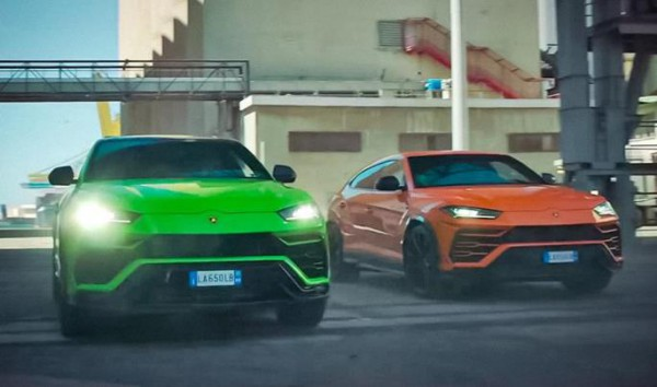 Lamborghini Urus 2021, кроссовер