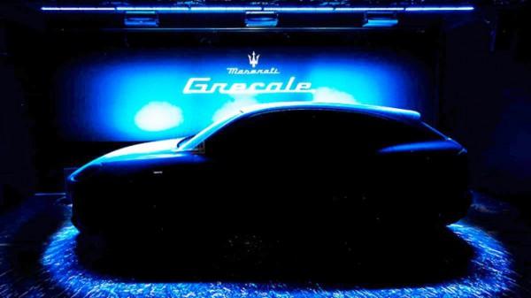 Maserati Grecale, внедорожник