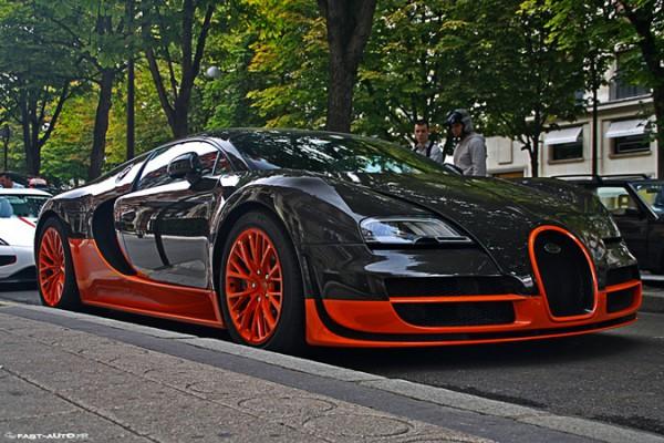Bugatti Veyron, суперкар от Mansory