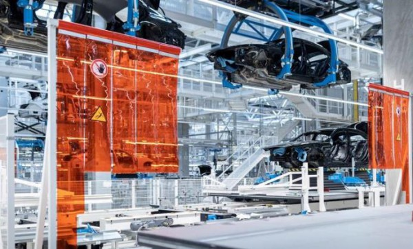 Mercedes-Benz S-Class, завод будущего