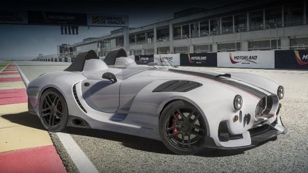 Knight Vision R, дебютный спорткар