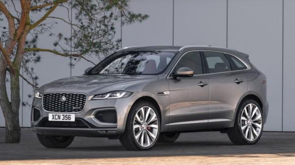Jaguar F-Pace 2021 года