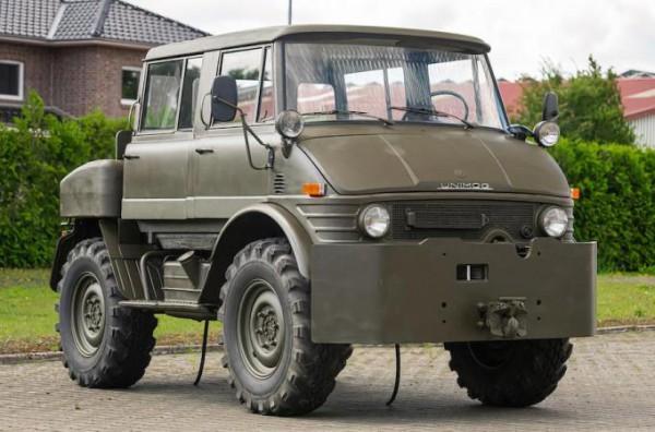 Mercedes-Benz Unimog, армейский вездеход, немецкий