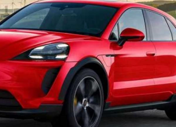 Porsche Macan 2022 года