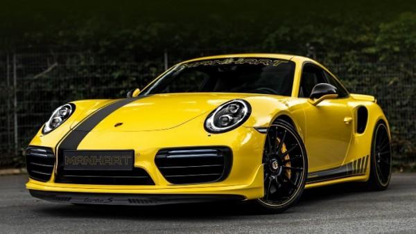 Porsche 911 Turbo S, тюнинг Manhart