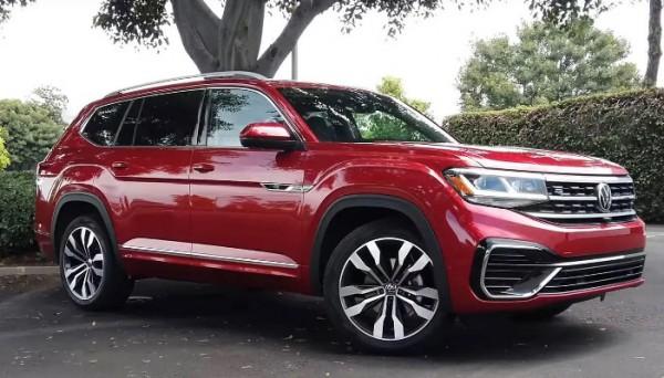 Volkswagen Atlas, внедорожник