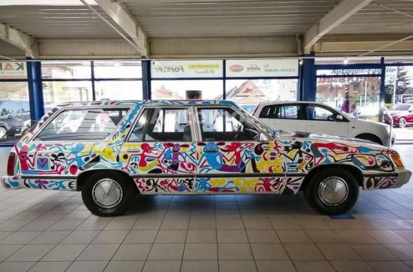 Ford с росписью Лиланги