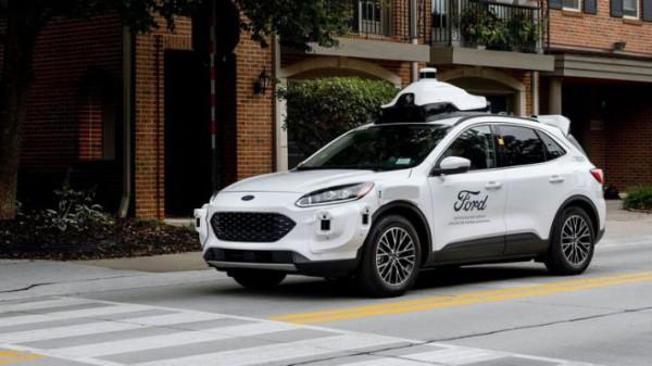 Ford, беспилотник, на базе Escape Hybrid