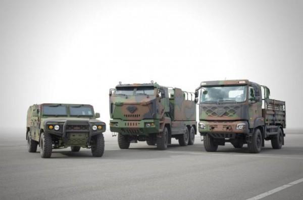 Kia, военные авто
