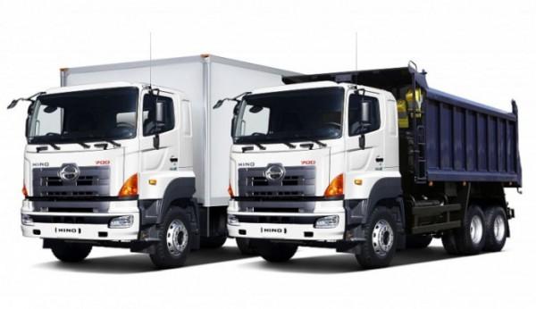 Toyota и Hin, электрический грузовик
