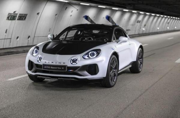 Alpine A110 SportsX, 2020