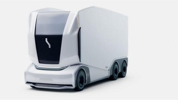 Einride Pod, беспилотный грузовик