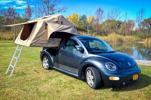 Volkswagen Beetle, миниатюрный кемпер