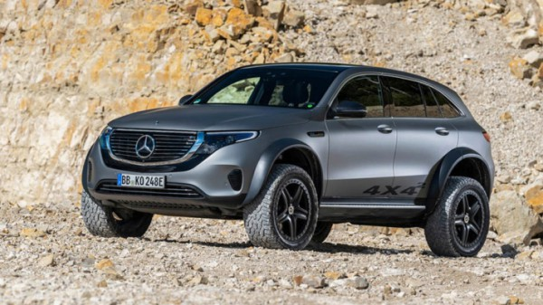 Mercedes-Benz EQC 4x4², прототип
