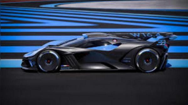 Bugatti Bolide, трековый гиперкар