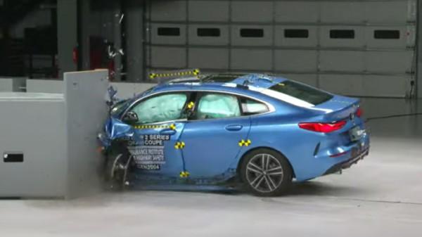 BMW 2-Series Gran Coupe, тест на безопасность
