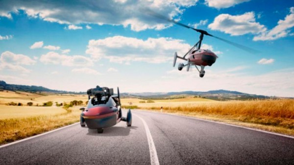PAL-V Liberty, летающий автомобиль