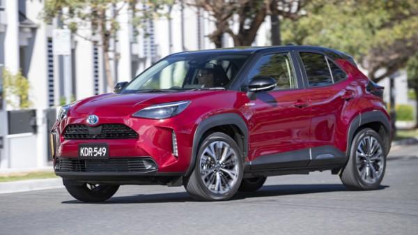 Toyota Yaris Cross, новый кроссовер