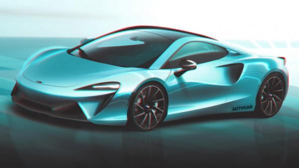 McLaren, гибридный суперкар