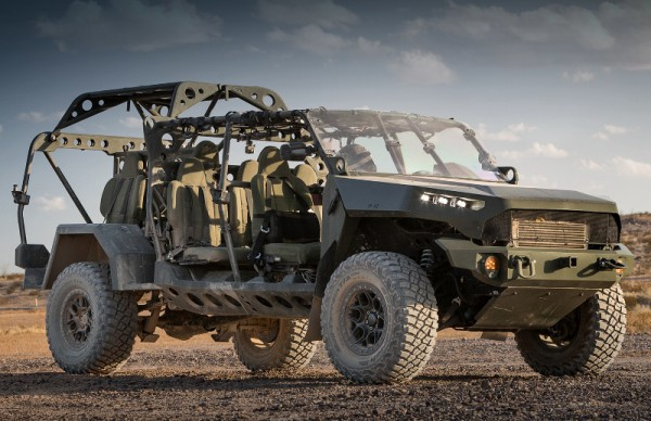 Chevrolet Colorado ZR2, армейский багги, Infantry Squad Vehicle