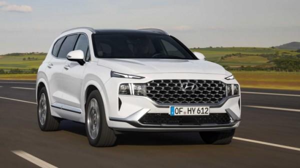Hyundai Santa Fe 2021 года