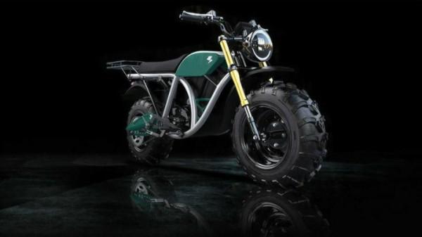 Volcon, электрический мотоцикл