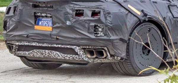 Chevrolet Corvette 8, новый