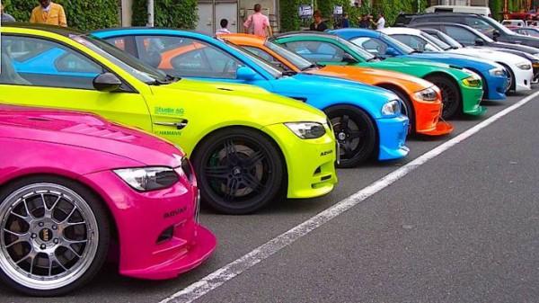 авто, яркие цвета