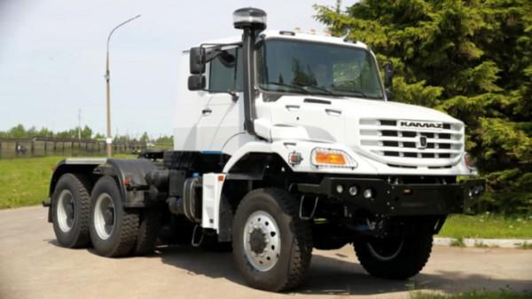 КамАЗ-65223, новый капотный грузовик