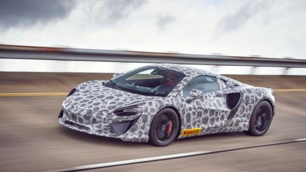 McLaren, новый гибридный суперкар