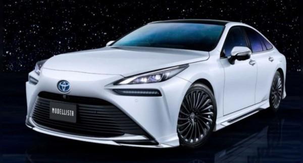 Toyota Mirai 2021 года, водородный седан, тюнинг Modellista
