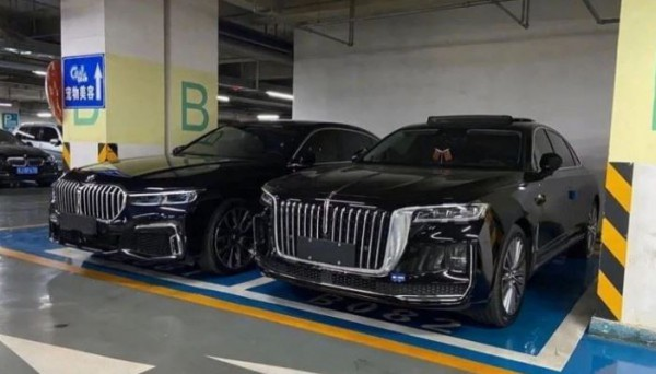 Hongqi H9, ноздри BMW 7-Series