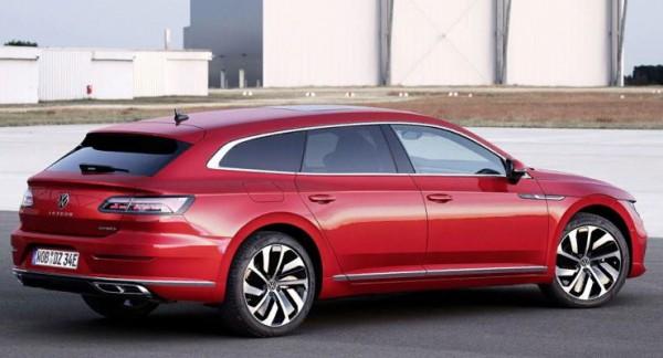 Volkswagen Arteon, гибрид