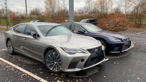Lexus LS, обновленный, для РФ