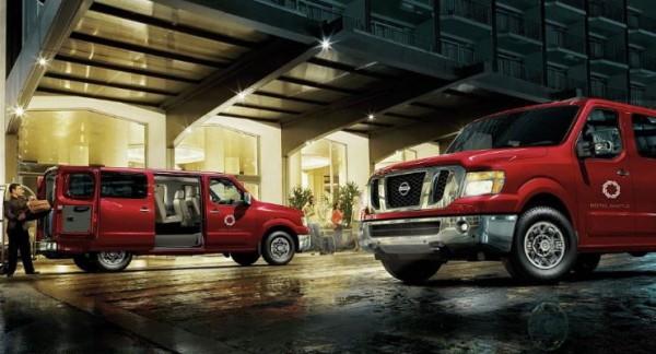 Nissan NV, фургон