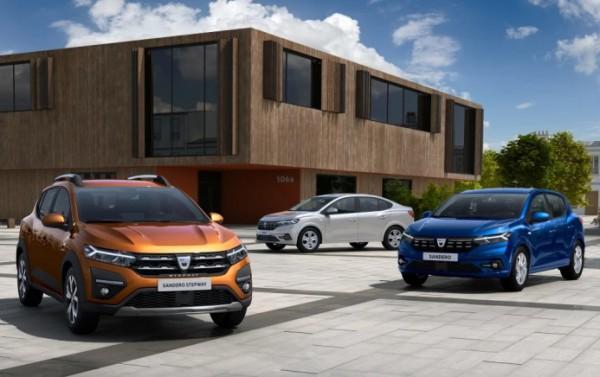 Renault, Sandero, Sandero Stepway и Logan, новые