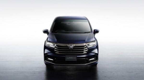 Honda Odyssey, минивэн, обновленный