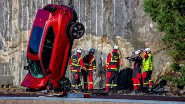 Volvo, авто, краш-тест