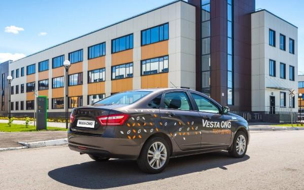 Lada Vesta CNG, биотопливная