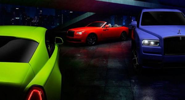 Rolls-Royce, серия Neon Nights