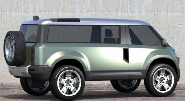 Land Rover Defender, в стиле Буханки