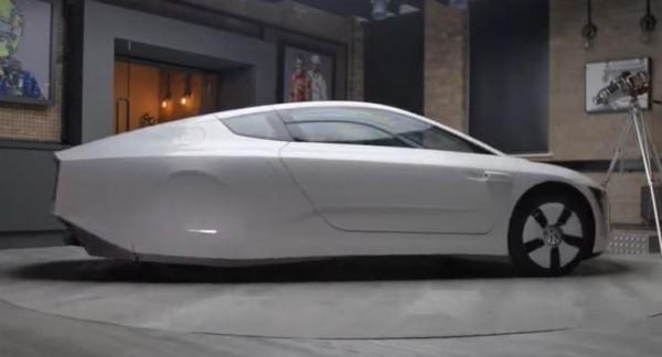Volkswagen XL1, гибрид