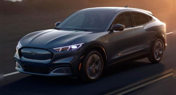 Ford, новый электрокар, на базе Mustang Mach-E