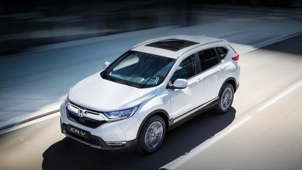 Honda CR-V 2021 года