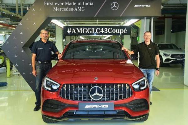 Mercedes-AMG GLC 43 Coupe индийской сборки